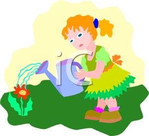 Watering Clipart