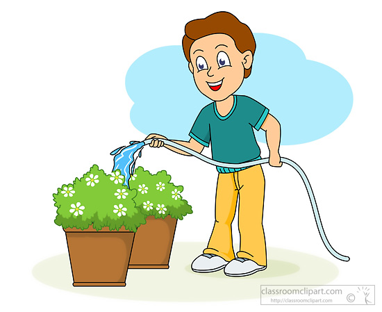 550x449 Water Clipart Plant Clipart