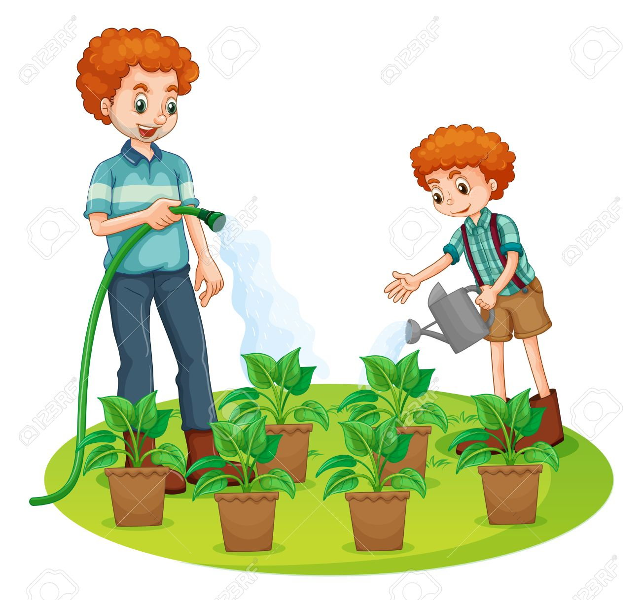 1300x1218 Watering Plants Clipart. Clip Art Girl Watering Plants Clipart R