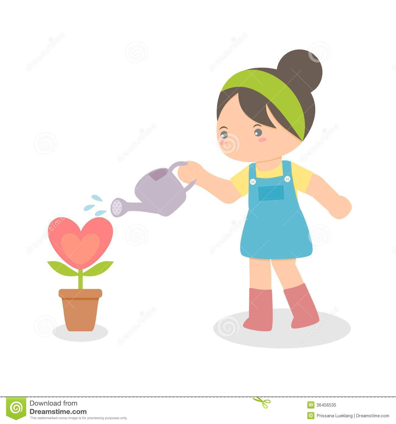 1300x1390 Clip Art Girl Watering Plants Cliparts