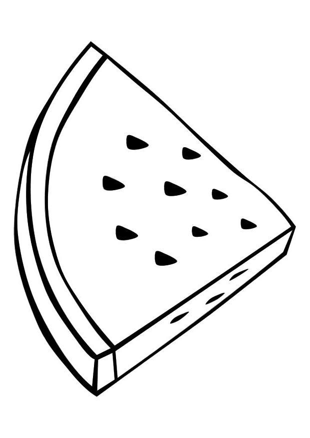 620x875 Drawn Watermelon Black And White