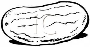 300x158 And White Watermelon Clip Art Image
