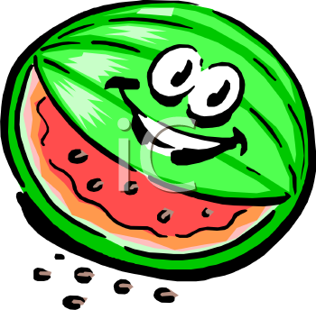 350x344 Royalty Free Watermelon Clip Art, Food Clipart