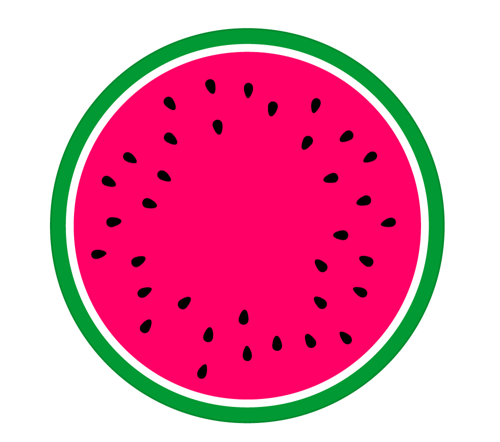 1000x884 Watermelon Clipart Circle