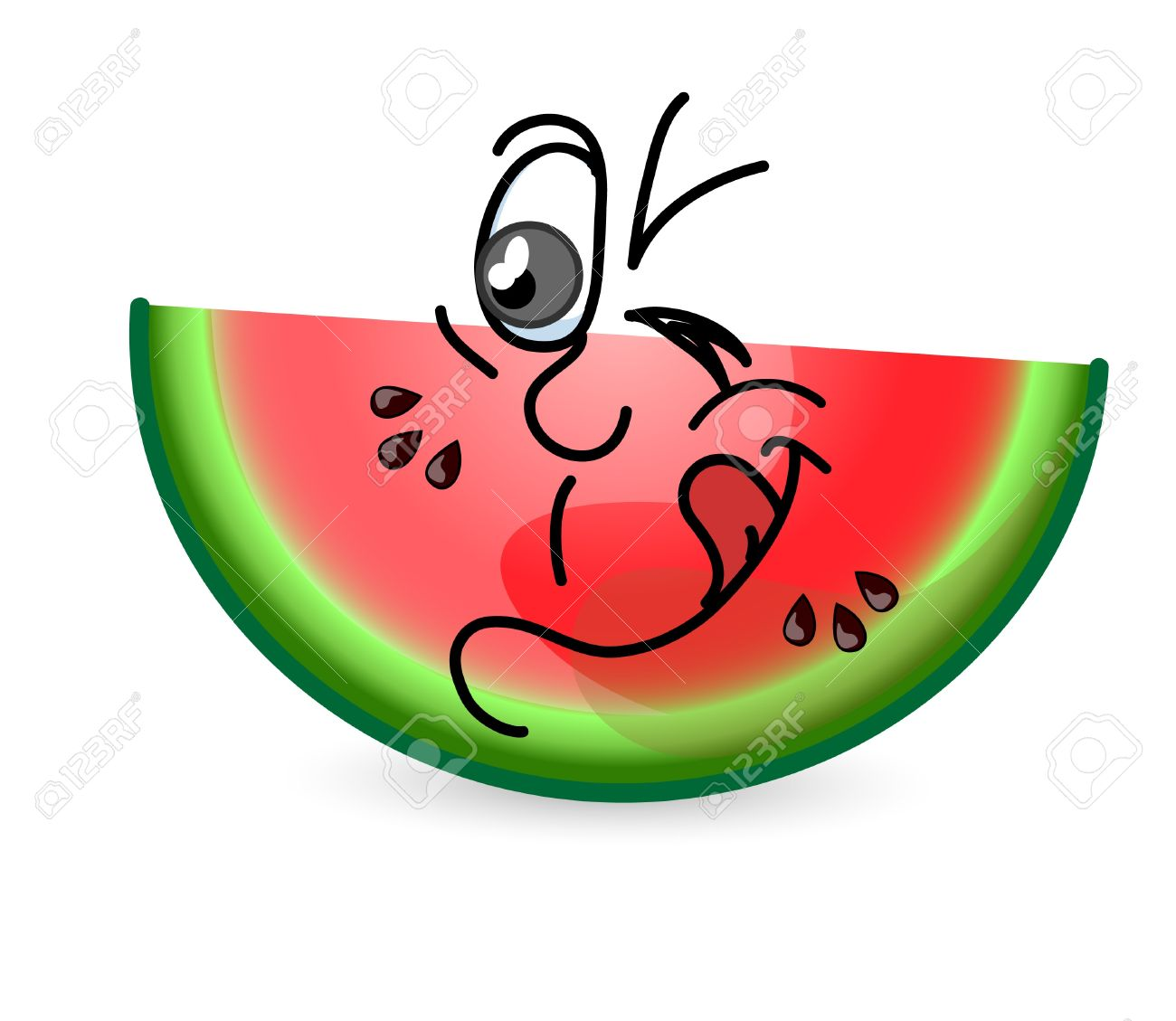 1300x1129 Watermelon Clipart Funny