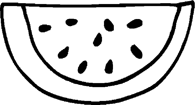 675x364 Cool Watermelon Coloring Page 95 For Your Picture Coloring Page