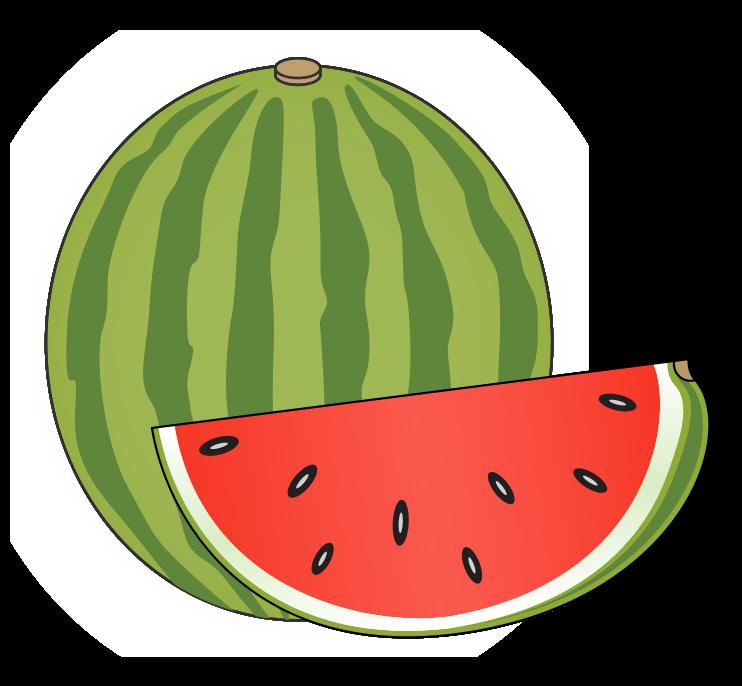 742x686 Watermelon clip art border free clipart images