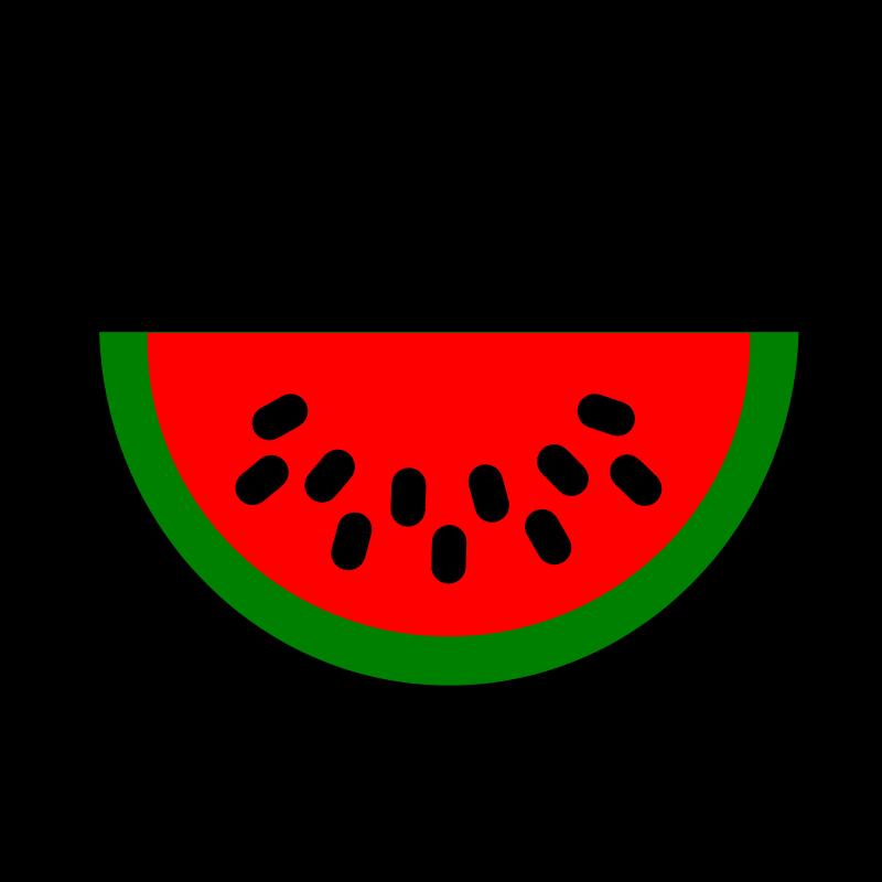 800x800 Watermelon clip art clipartcow clipartix