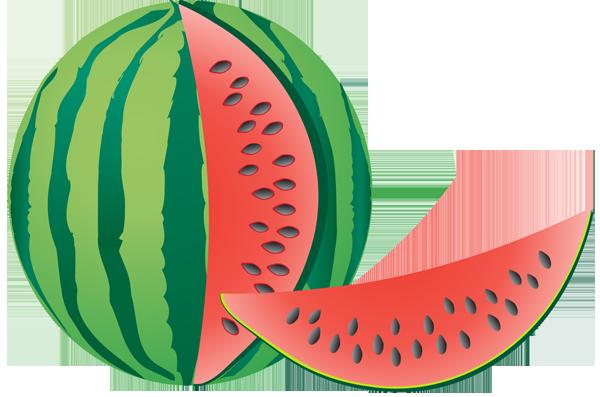 600x397 Watermelon clip art images free clipart