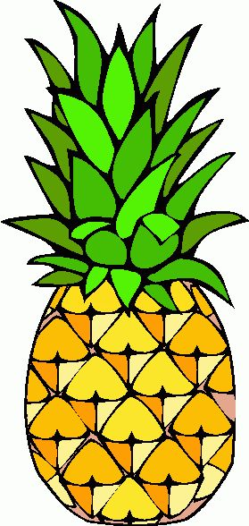 279x588 Best 25+ Pineapple clipart ideas Pineapple vector