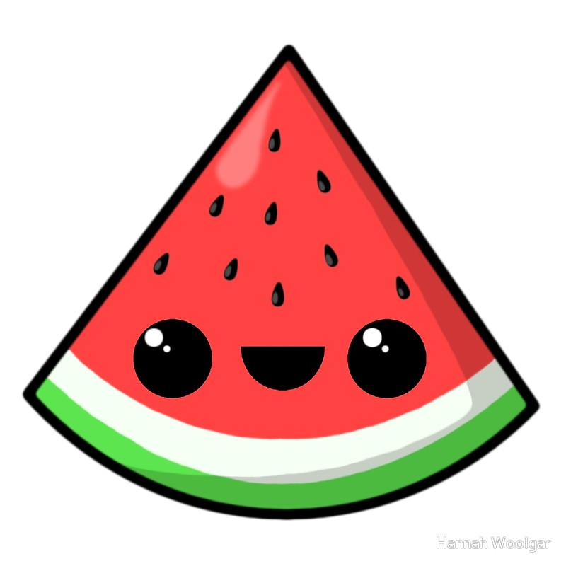 800x800 Watermelon clipart kawaii