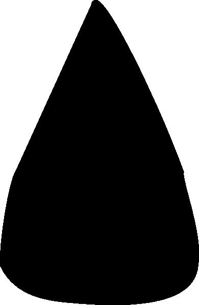 390x597 Black Apple Seed Clip Art