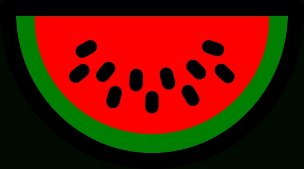 600x334 Top 10 Watermelon Seed Clipart