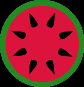288x298 Watermelon Clip Art