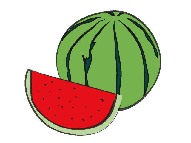 640x480 Watermelon clip art 3