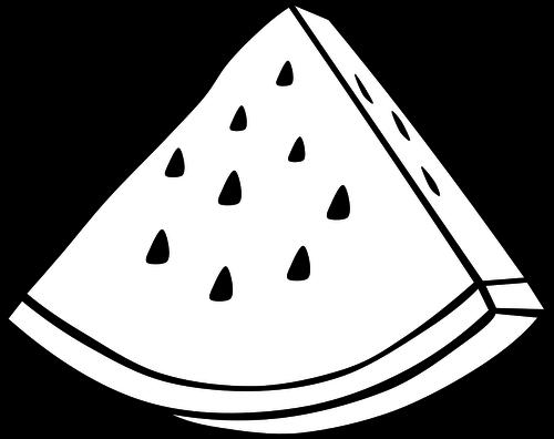 500x396 Watermelon clip art image Public domain vectors