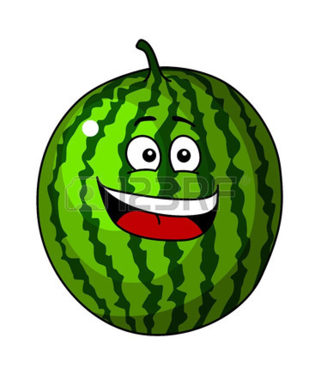 1101x1350 Watermelon clipart face