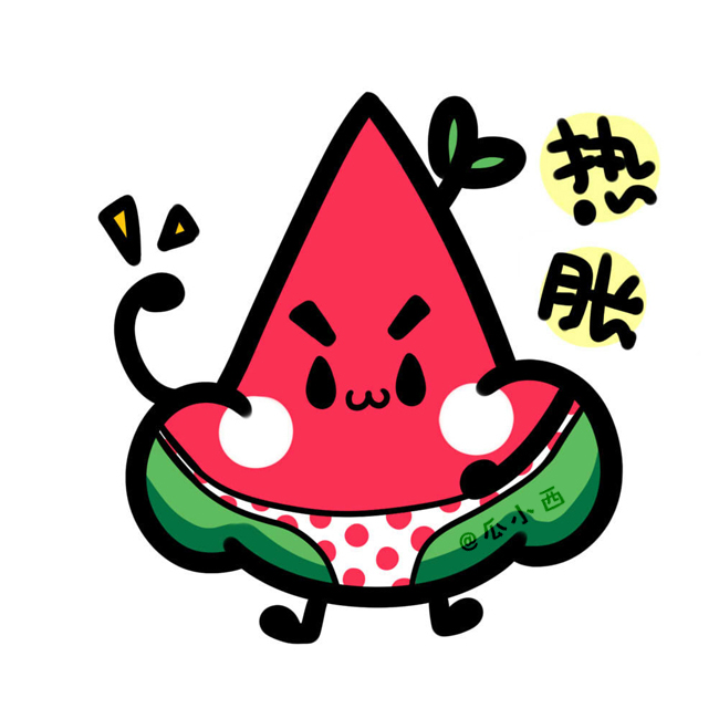 650x650 draw drawing freehand cartoon kawaii wallpaper lovely watermelon
