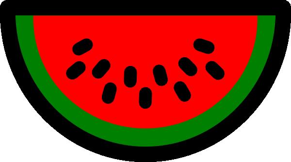 600x334 Watermelon Clip Art