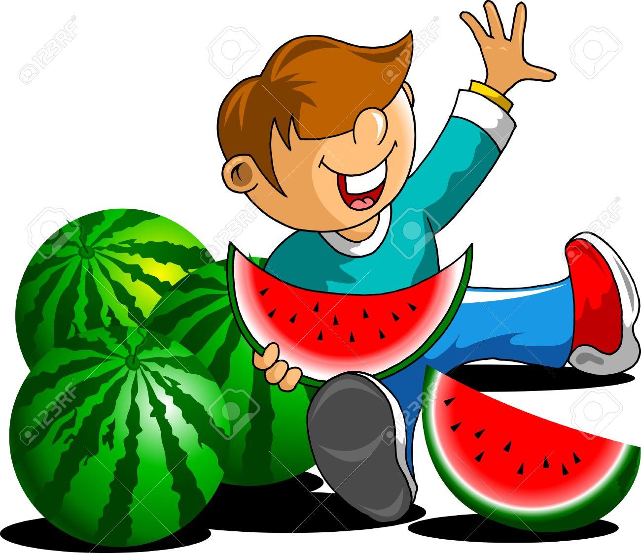 1300x1123 Watermelon clipart eaten