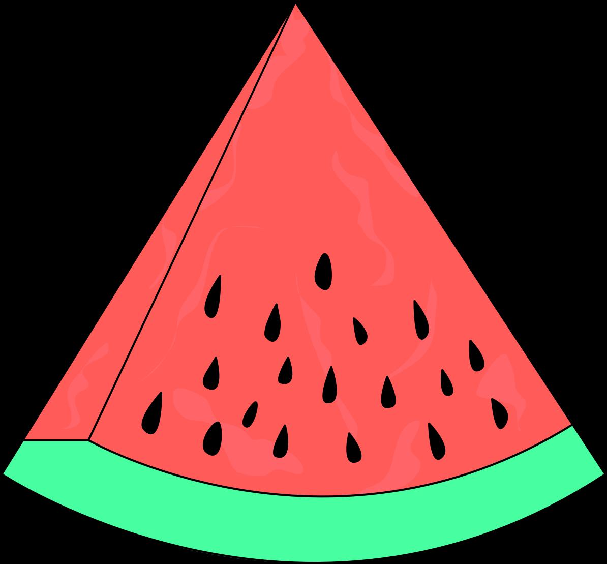 1194x1109 Watermelon slice clip art fruit –