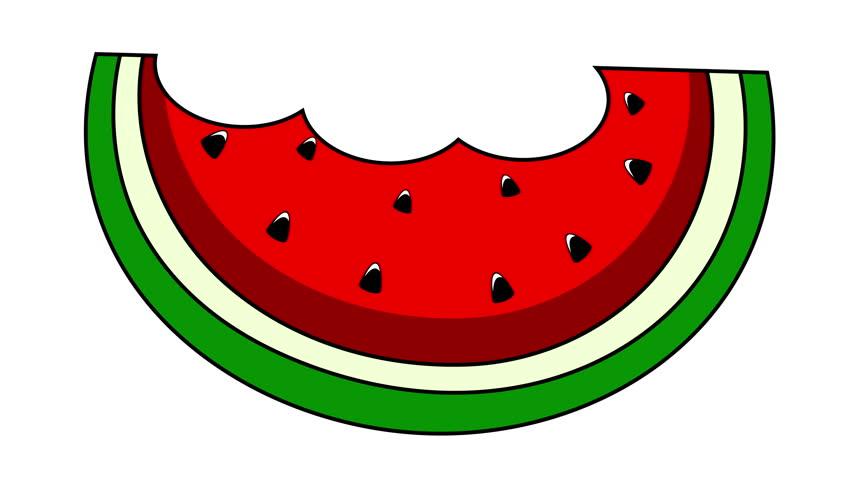 852x480 Graphics for watermelon slice clipart –