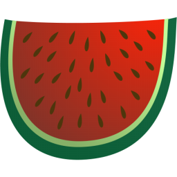 256x256 Of watermelon clip art for clipart cliparts for you