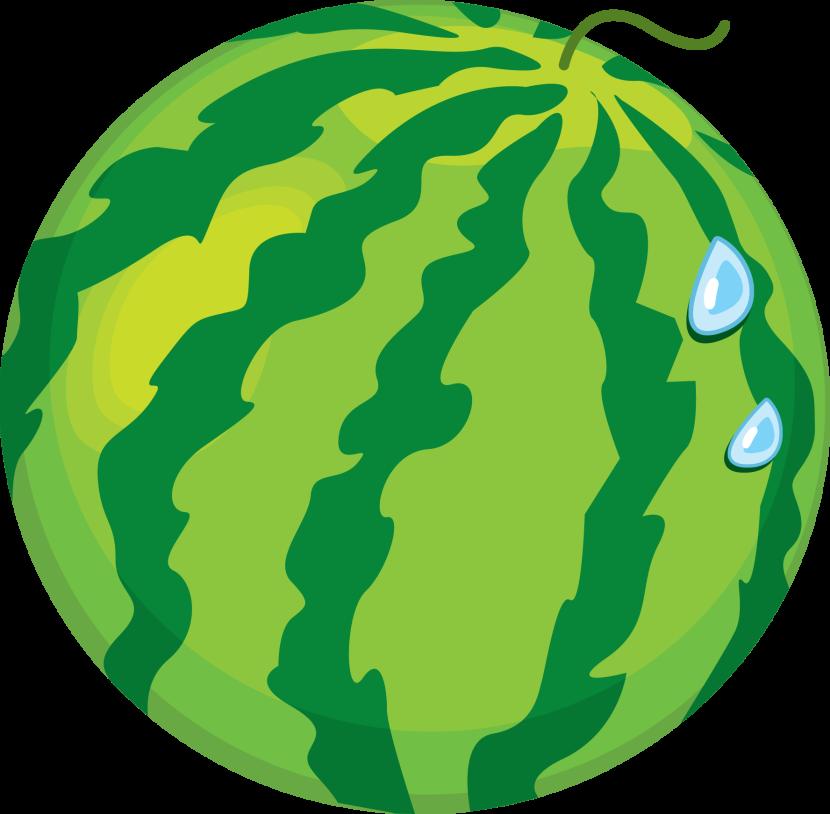 830x814 Watermelon Clipart Cartoon Whole