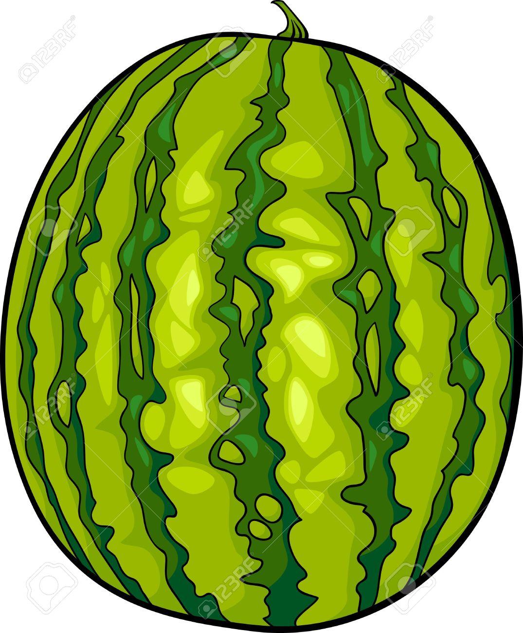 1075x1300 Watermelon Clipart Green Fruit