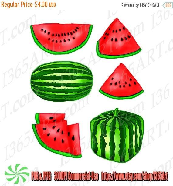 570x613 50% Off Watermelon Fruit Clipart, Watermelon Clip Art, Party