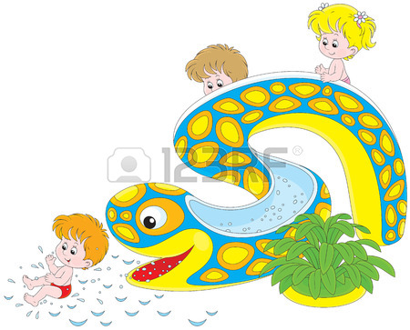 Waterslide Clipart