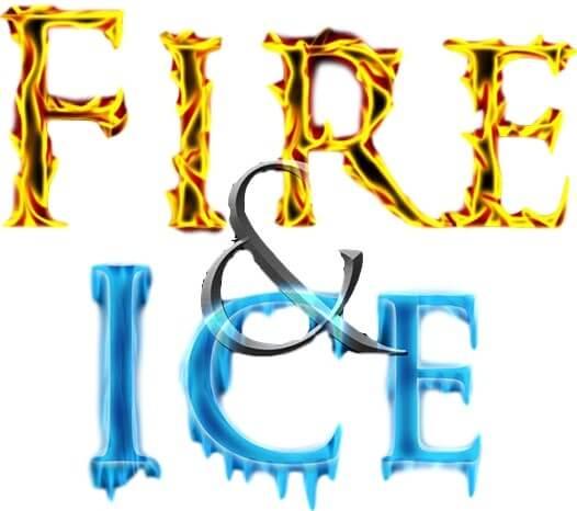 526x466 Fire N Ice Water Slide Rental