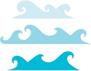 Wave Border Clipart