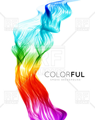 317x400 Abstract Transparent Spectrum Wave Background Royalty Free Vector