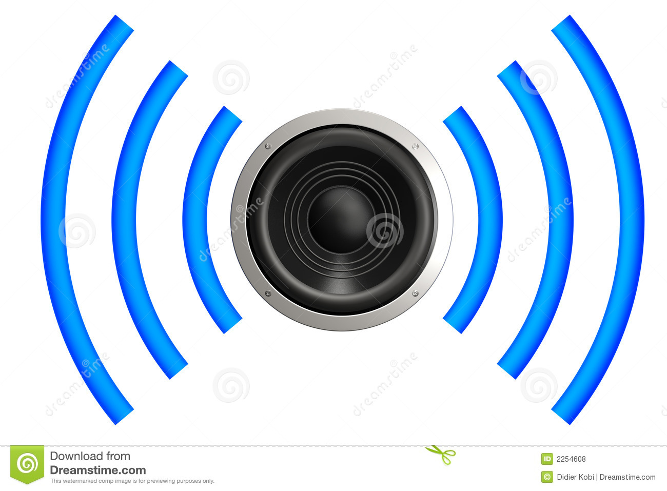 1300x957 Sound Waves Clipart
