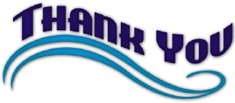 340x150 Thank You Wave Clip Art