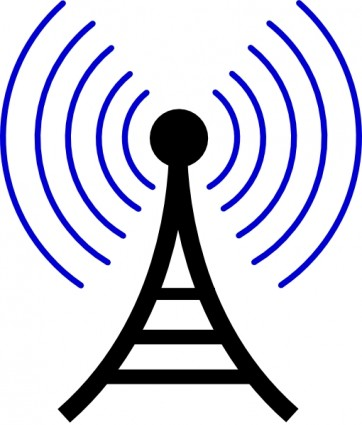 362x425 Antenna And Radio Waves Clip Art Free Vector For Free Download