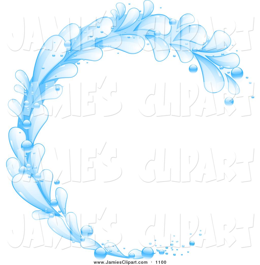 1024x1044 Clip Art Of A Blue Splash Wave By Elaineitalia