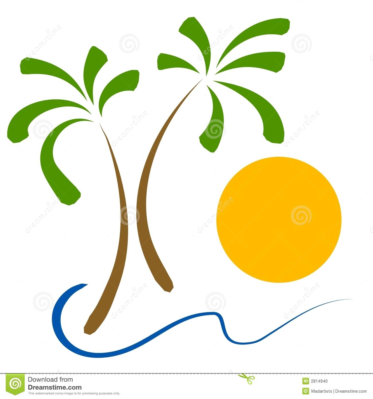 1300x1390 Palm Trees Beach Sun Clip Art Clipart Panda