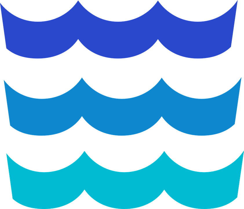 842x720 Wave Clipart River