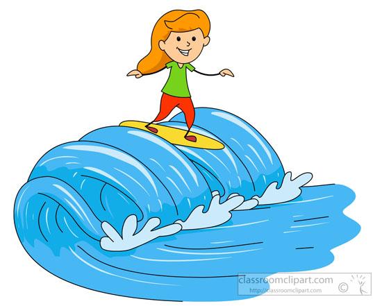 550x441 Wave Clipart Surfboard