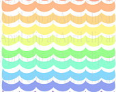 170x135 Items Similar To Pastel Ocean Waves Border Clipart, Sea, Wave