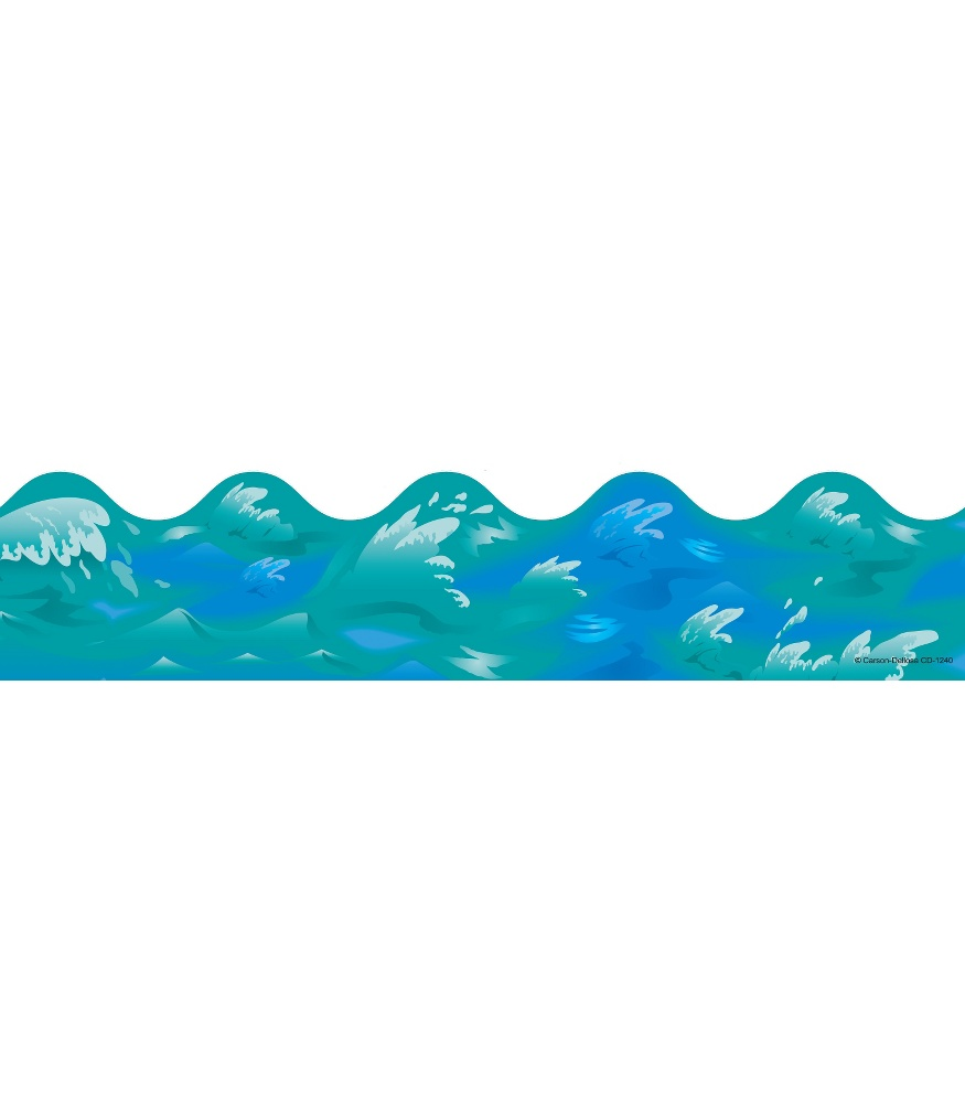 875x1000 Ocean Waves Scalloped Borders Grade Pk 8 Carson Dellosa Publishing
