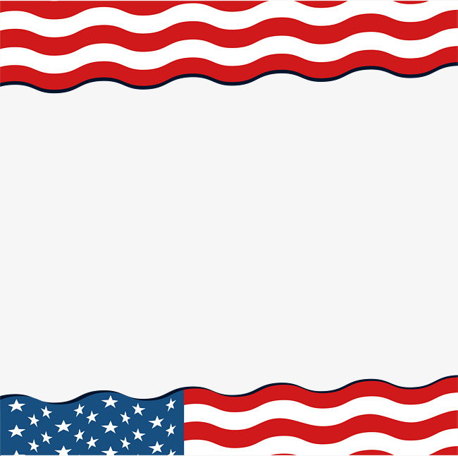 650x646 Wave Of American Flag Borders, Vector Png, American Flag, Flag Png