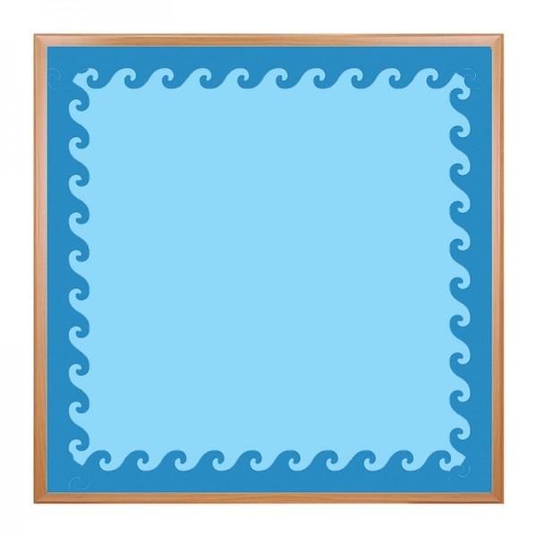 600x600 Classroom Borders With Blue Wave Bulletin Board Borders