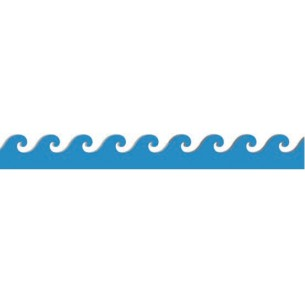 305x305 Wave Border Clip Art Clipart