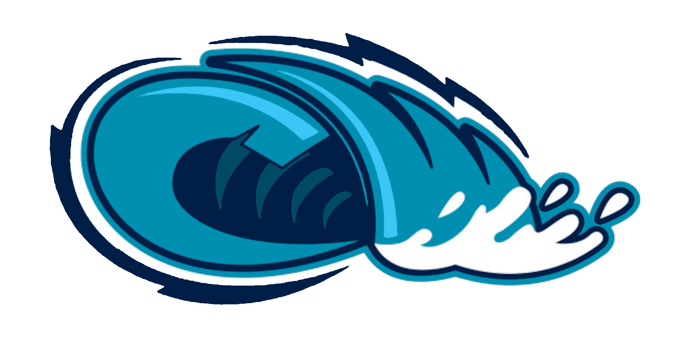2343x1204 Waves Wave Clipart 5 4