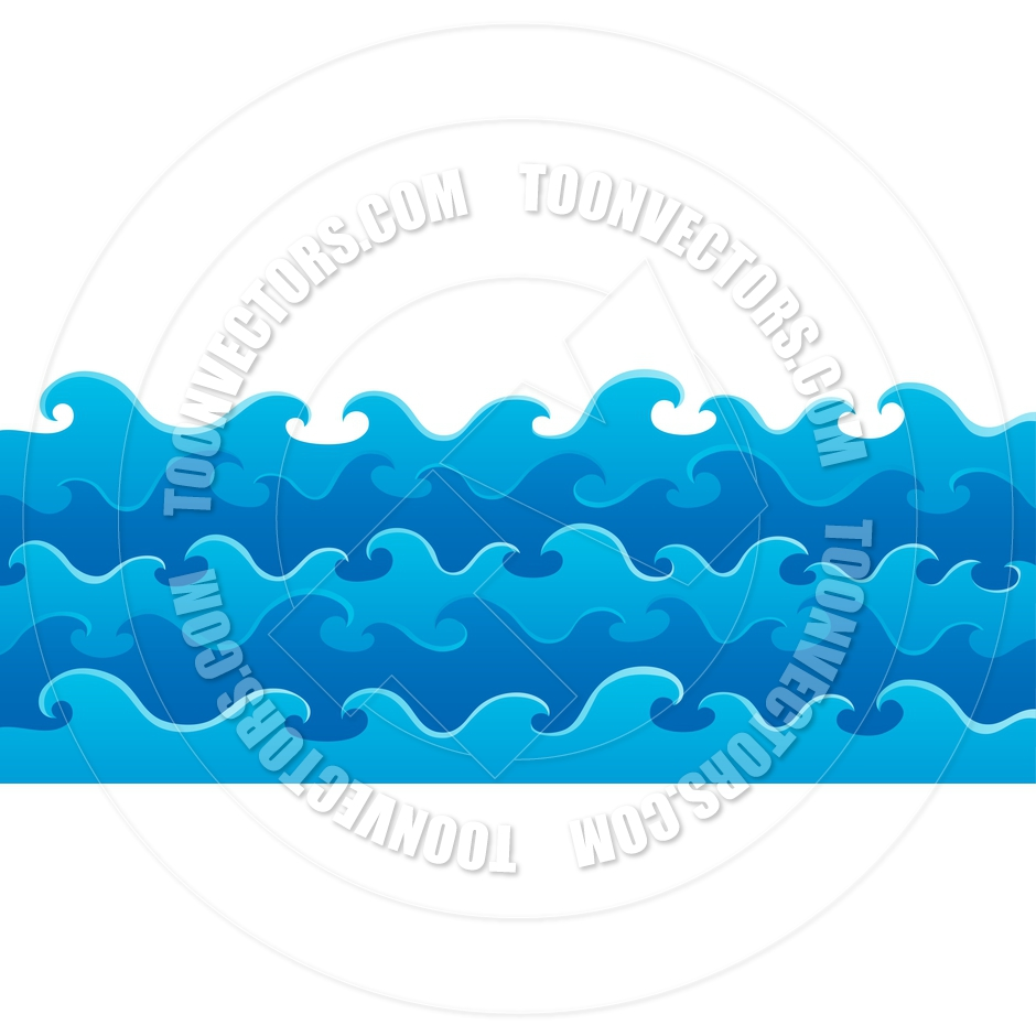 940x940 Cartoon Waves Theme Image By Clairev Toon Vectors Eps