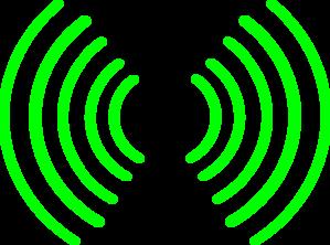 299x222 Radio Waves Clip Art