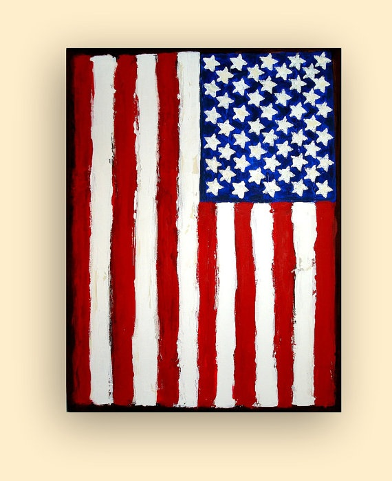 570x700 The Best American Flag Painting Ideas Flag